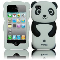 Amazon.com: 4 Items Combo for Apple Ipod Touch 4 Itouch 4 - Black 3D Panda Design Soft Silicone Skin Gel Cover Case + Premium Lcd Screen Guard + Microfiber Pouch Bag + Stylus Pen: Everything Else