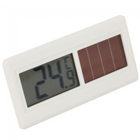 DST-50 High Quality Solar Car Thermometer White - Default