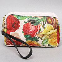 The Hillside Rose Wristlet