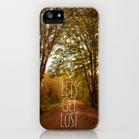 lets get lost iPhone Case by Sylvia Cook Photography | Society6