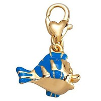 Disney Little Mermaid FLOUNDER Kidada Charm The Charming Collection 14kt Jewelry