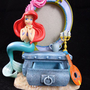 Disney Store Ariel Little Mermaid Figurine + Secret Pull Out Keepsake Drawer 6