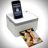 Compact Cube Photo Printer for iPhone