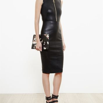 Lamb's Leather Dress - GIVENCHY