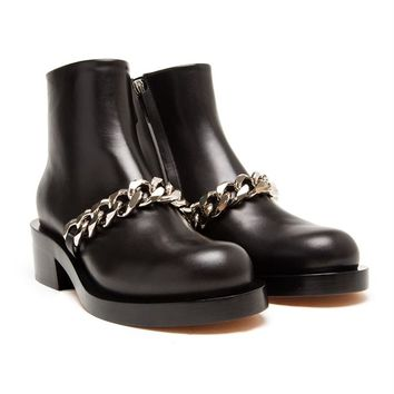 Laura Chain Biker Boots - GIVENCHY