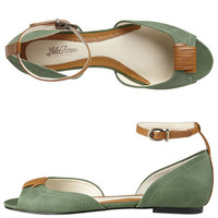 Womens - Lela Rose for Payless - Mateos D'Orsay Ankle Strap Flat - Payless Shoes