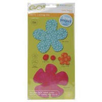 AccuQuilt GO! Fabric Cutting Dies; Funky Flower $27.51