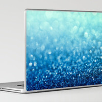 Tell Me True...Ocean Blue Laptop & iPad Skin by Lisa Argyropoulos | Society6