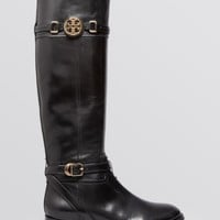 Tory Burch Tall Flat Riding Boots - Calista | Bloomingdales's