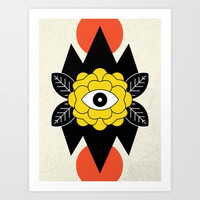 STAY CURIOUS Art Print by Wesley Bird