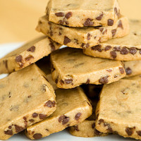 espresso chocolate chip shortbread cookie recipe