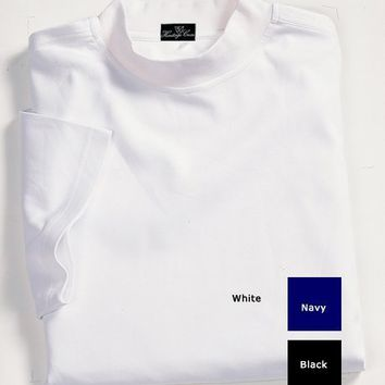 Mens Heritage Cross 2001 Cotton Short Sleeved Mock Neck Shirt $14.99