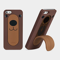 O!coat Snap Stand iPhone5 Case Bear | MoMA