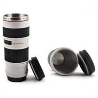 Camera Lens Mug/Lens Coffee Cup: Amazon.co.uk: Kitchen  Home