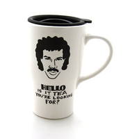Hello is it tea Lionel Richie Mug Travel Mug with Lid