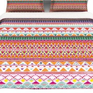 "Kess InHouse Nika Martinez ""Chenoa"" Twin Cotton Duvet, 68 by 88-Inch"