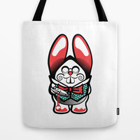 Oh My Fur And Whiskers! Lost Time Tote Bag by Rabassa