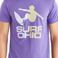 HOMAGE Surf Ohio Tee- Purple