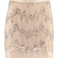 Chiffon Sequin Skirt