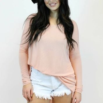 On A Tuesday Top in Pink | Very J
