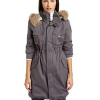 Patterson J. Kincaid Women`s Lauren Fur Trim Parka $272.16