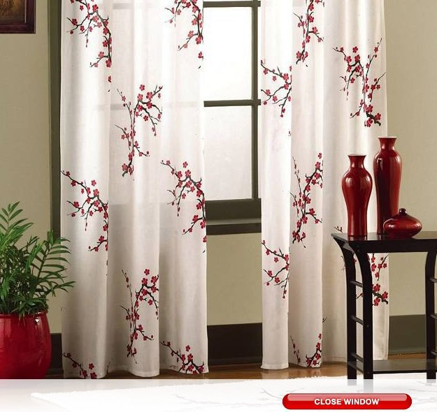 Teal And Coral Curtains Bath Curtains and Drapes
