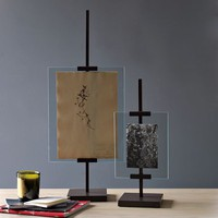 Metal Easel Adjustable Floating Frames