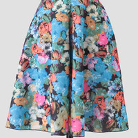Anywhere With You Floral Skirt