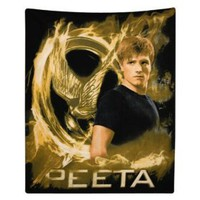 The Hunger Games Movie polar Fleece Peeta $24.99