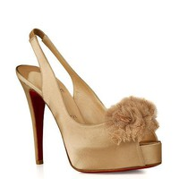 Christian Louboutin Platform peep-toes - &amp;#36;256.00