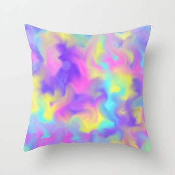 Summer Time Throw Pillow by Sanja Amic
