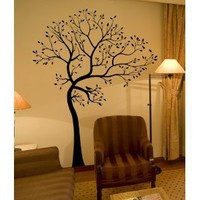 Amazon.com: BIG Tree with Bird Wall Decal Deco Art Sticker Mural: Home &amp; Garden