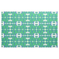 Peacock blue green abstract pattern