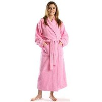 Turkishtowels Terry-Soft Shawl Bathrobe, 100% Combed Pure Turkish Cotton Terry Robe, Free Embroidery...