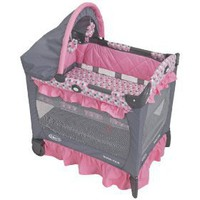 Graco Travel Lite Crib with Bassinet, Ally $76.00