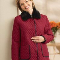 National Box Quilted Coat $23.95