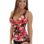 Beautiful Women`s Tankini SwimSuit 2 Piece Set Trimshaper Talle Swimwear Sizes:10 12 14 or 18...