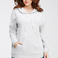 Hooded Drawstring Pullover