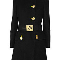 Versace|Military wool coat|NET-A-PORTER.COM