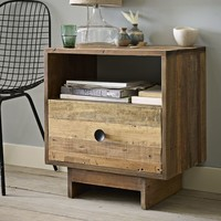 Emmerson Reclaimed Wood Nightstand - Natural