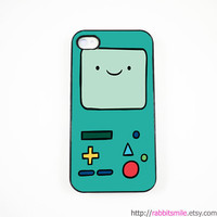 Beemo Adventure Time  INSPIRED iPhone 4 Case, iPhone 4s Case, iPhone 4 Cover, Hard iPhone 4 Case - BMO
