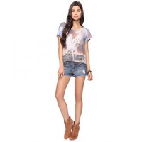 Forever 21 Unicorn Sublimation Top