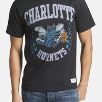 Men's Mitchell & Ness 'Charlotte Hornets - Shooting Stars' Tailored Fit Graphic T-Shirt,
