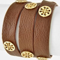 Cross wrap bracelet BROWN