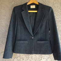 "Vintage 60s Pendleton BLAZER Jacket Pinched Box Cut WOOL 34"" B"