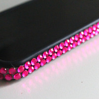 Pink Rhinestone iPhone 4 Bumper