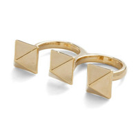 Pyramid Thought Ring | Mod Retro Vintage Rings | ModCloth.com