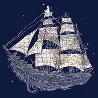 Wherever the Wind Blows - Threadless.com - Best t-shirts in the world