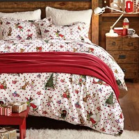 The Grinch™ Flannel Duvet & Sham