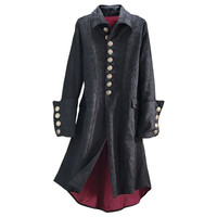 Legacy Brocaded Coat